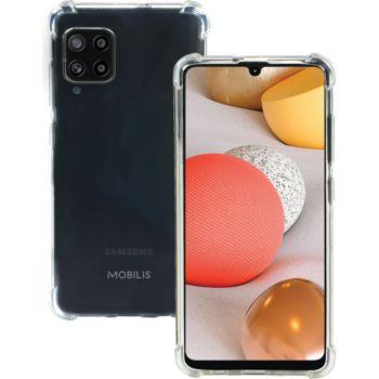 Mobilis Etui pour Galaxy A42 5G Transparent