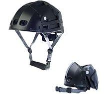 Casque Overade Plixi Fit Noir L - XL (59-62cm) Noir