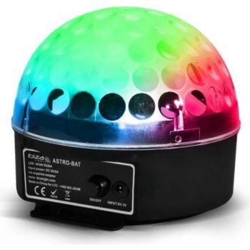 Ibiza Dôme effet ASTRO sur batterie à LEDs RVB