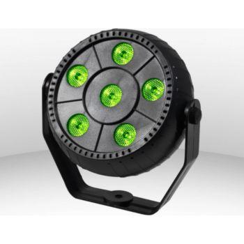 Festinight Jeu de lumière PAR 6x1W LED RVB + Etrier