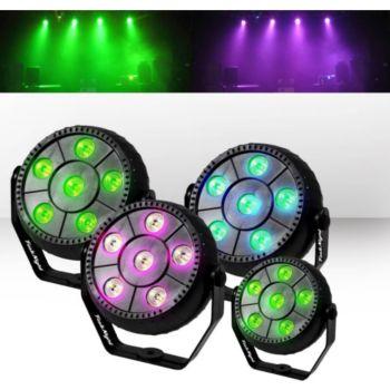 Festinight Pack 4 jeux de lumière effet PAR à LED R