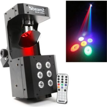 Beamz Jeu de lumière type Scanner avec strobe