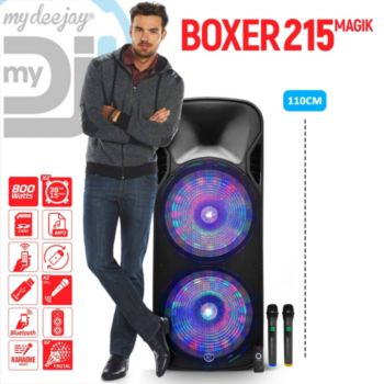 Mydeejay BOXER-215LED-MAGIC