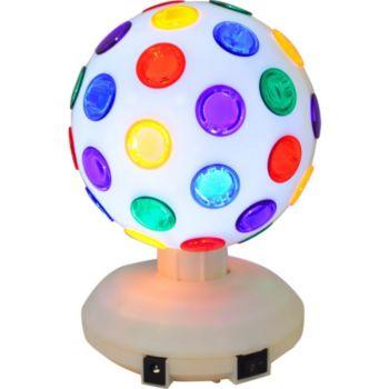 Ibiza Jeu de lumière - Boule Disco à LEDs RVB