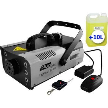 Pur Light Machine à fumée à 6x3W 3-en-1 LEDs RGB 9