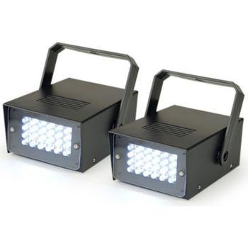 Hq Power Pack 2 Mini stroboscopes HQ POWER 24 LED