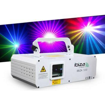 Ibiza Jeu de lumière IBIZA500 - Laser d'animat