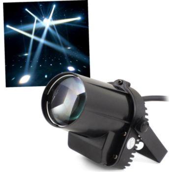 Ibiza Jeu de lumière à LED Blanc de 5W pour Dj