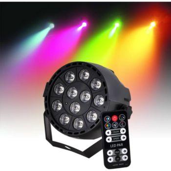 Ibiza Projecteur sur batterie PAR à LEDs RGB3