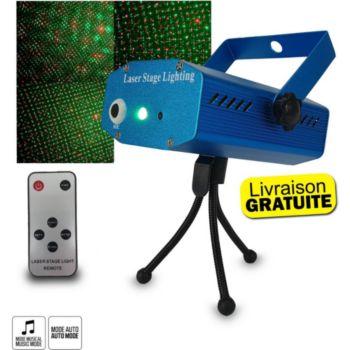 Lytor Mini double laser rouge et vert 150 mw -
