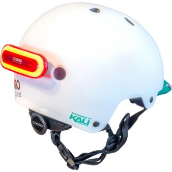 Cosmo Connected Helmet Urban Blanc S/M