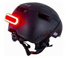 Casque Cosmo Connected  Helmet City Noir S/M