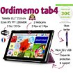Tablette senior Ordimemo TAB4 2/32 10.1 1280x800 COQUE+STYLET