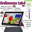 Tablette senior Ordimemo TAB4 2/32 10.1 1280x800 KB+COQUE+STYLET