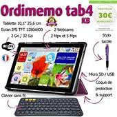 Tablette senior Ordimemo TAB4 2/32 10.1 1280x800 KB+COQUE+STYLET