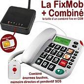 Téléphone portable Mobiho ME-FIXMOB-481