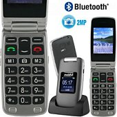 Téléphone portable Mobiho Le clap luxe 3 noir
