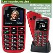 Téléphone portable Mobiho Le classic initial rouge