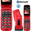 Téléphone portable Mobiho CP-FACIL4-Rouge