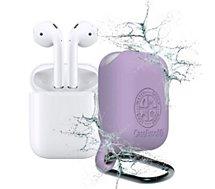 Etui Caseproof  Airpods Etanche et Antichoc violet