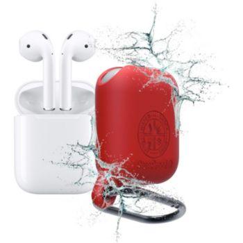 Caseproof Airpods Etanche et Antichoc rouge