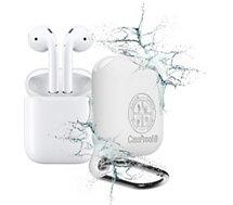 Etui Caseproof  Airpods Etanche et Antichoc blanc
