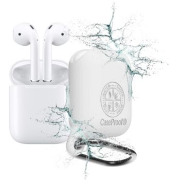 Caseproof Airpods Etanche et Antichoc blanc