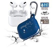 Etui Caseproof  Airpods Pro Etanche/Antichoc bleu foncé