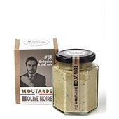Moutarde C'est Francais olive noire Grégoire 13