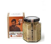 Moutarde C'est Francais  sirop d'érable cranberry Henri 09
