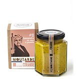 Moutarde C'est Francais  curcuma coriandre Cassandre 11