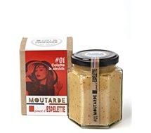 Moutarde C'est Francais  piment d'espelette Colette 01