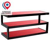 Meuble TV Norstone Esse rouge 32 -50 P 1m10