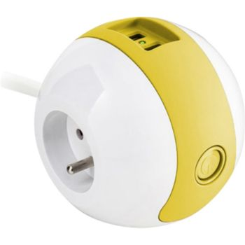 Watt And Co Wattball Blanc - Jaune