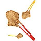 Pince Pebbly Pince à toast aimantée en bambou
