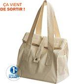 Lunch bag Pebbly dejeuner en coton biologique nature