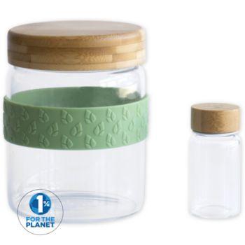 Pebbly Set de 2  700 ml et petit pot 50 ml
