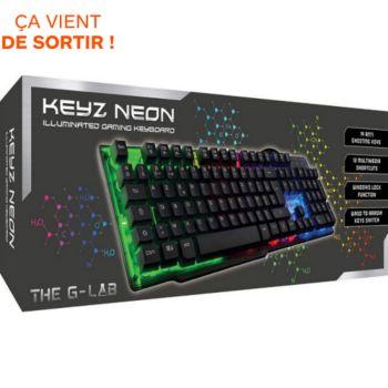 The g-Lab KEYZ-NEON French Layout
