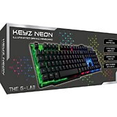 Clavier gamer The g-Lab KEYZ-NEON French Layout