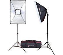 Kit d'éclairage Starblitz  Kit vlog 2x50W