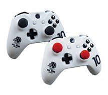 Housse de protection Subsonic Kit Manette Xbox One Blanc