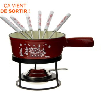 Table & Cook Savoyarde fonte rouge 18 cm