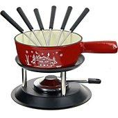 Fondue Table & Cook Savoyarde fonte rouge 22 cm