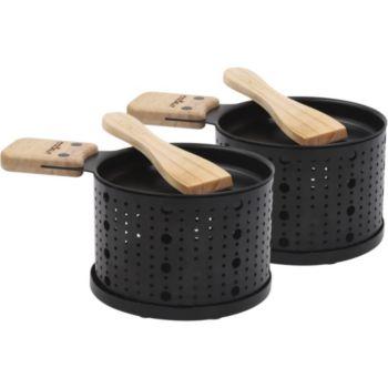cookut raclette la bougie 2 personnes lumi raclette fondue boulanger. Black Bedroom Furniture Sets. Home Design Ideas