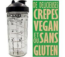 Shaker Cookut  a crepes et pancakes vegan / sans g