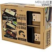 Coffret cuisine Cookut Raclette et fondue + un livre
