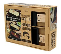 Coffret Cookut  Raclette et fondue + un livre