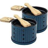 Raclette Cookut  Raclette à la bougie 2 personnes bleu