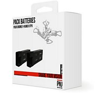 Batterie drone PNJ  2 Batteries 3.7 V 450mAh