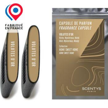 Scentys Volutes d'Or - Lot de 2 capsules